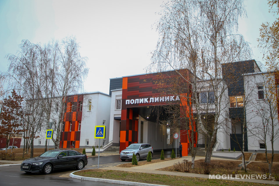 Открытие обновленной районной поликлиники в городе Осиповичи!